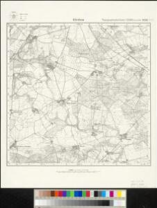 Meßtischblatt 2532 : Körchow, 1908
