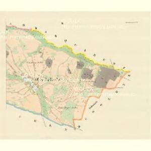 Ober Radischen (Horni Radikow) - m0816-1-002 - Kaiserpflichtexemplar der Landkarten des stabilen Katasters