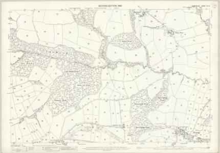 Derbyshire XII.14 (includes: Dronfield; Eckington) - 25 Inch Map