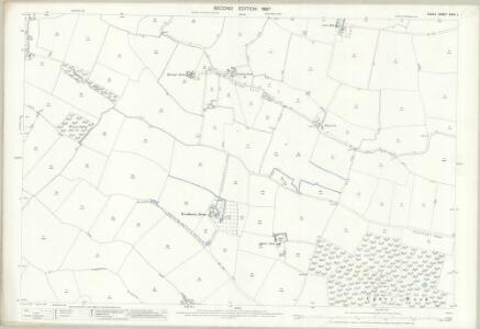 Essex (1st Ed/Rev 1862-96) XXXV.1 (includes: Bradwell; Coggeshall; Kelvedon; Witham) - 25 Inch Map