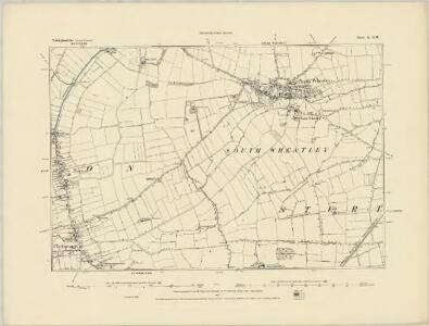 Nottinghamshire X.SE - OS Six-Inch Map
