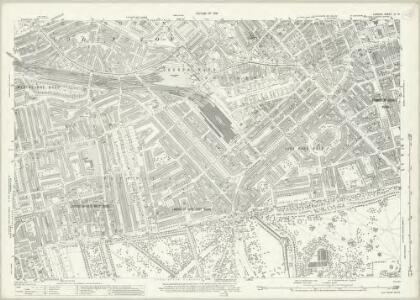 London (1915- Numbered sheets) IV.12 (includes: City Of Westminster; Paddington; St Marylebone) - 25 Inch Map
