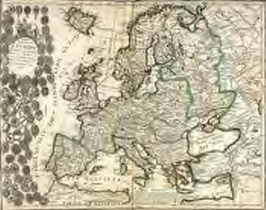 Carte general de l Europe