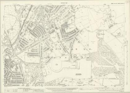 Essex (New Series 1913-) n LXXVIII.10 (includes: Ilford; Leyton; Wanstead) - 25 Inch Map