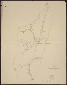 Géodésie de Madagascar. Triangulation de 1895 à 1900