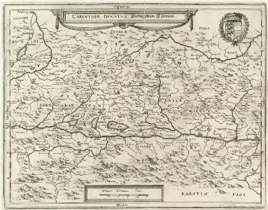 Carinthiae Ducatvs Hertzogthum Cärnten