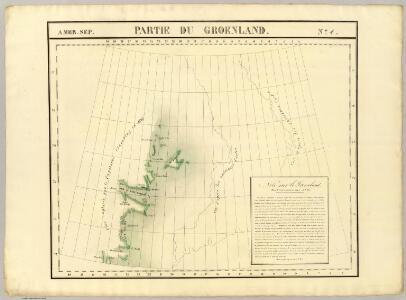 Partie du Groenland. Amer. Sep. 4.