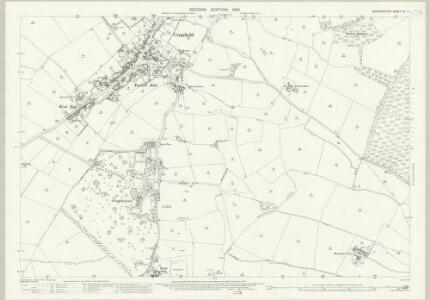 Bedfordshire XX.4 (includes: Cranfield; Marston Moretaine) - 25 Inch Map
