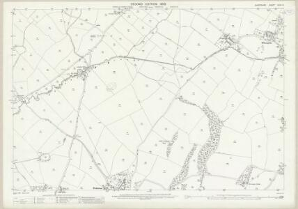 Shropshire XLVII.6 (includes: Chirbury) - 25 Inch Map