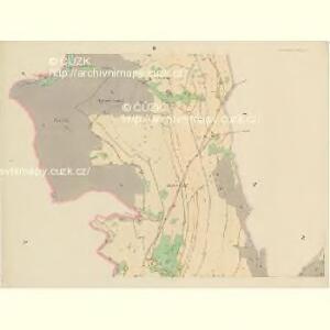 Klein Aurzim (Maly Auřim) - c4462-1-002 - Kaiserpflichtexemplar der Landkarten des stabilen Katasters