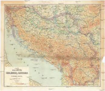 Karta Kraljevine Srba, Hrvata i Slovenaca