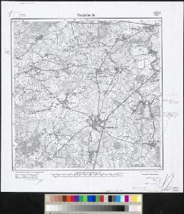 Meßtischblatt 838 : Bargteheide, 1910