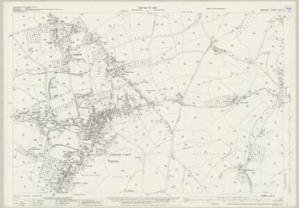 Somerset LXV.5 (includes: Ansford; Castle Cary; Pitcombe; Shepton Montague) - 25 Inch Map