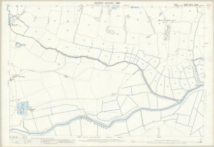 Kent LXXVIII.16 & 15 (includes: Bodiam; Ewhurst; Salehurst; Sandhurst) - 25 Inch Map