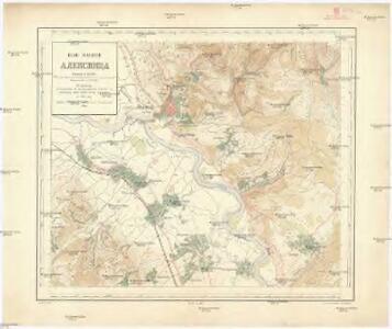Plan okoline Aleksinca