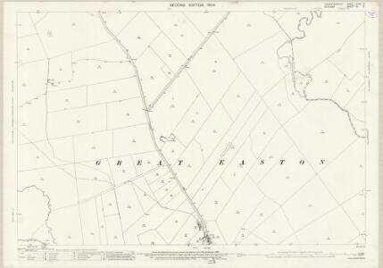 Leicestershire XLVII.5 (includes: Caldecott; Drayton; Great Easton; Neville Holt; Stockerston; Stoke Dry) - 25 Inch Map