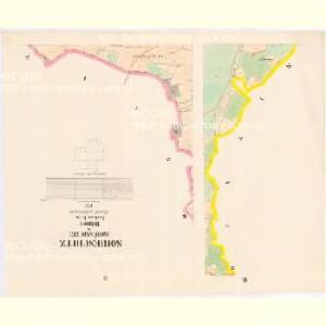 Sobieschitz (Soběssicze) - c7121-1-002 - Kaiserpflichtexemplar der Landkarten des stabilen Katasters