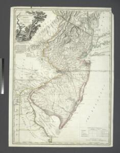 The Province of New Jersey, divided into East and West, commonly called the Jerseys / engraved & published by Wm. Faden.