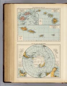 Polynesia Groups, S Polar Regions.