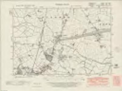 Denbighshire XXII.NW - OS Six-Inch Map