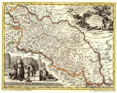 Ducatus Silesiae Tabula.