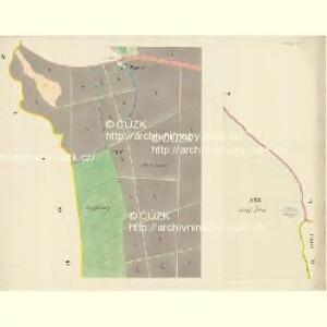 Göding (Hodonin) - m0741-1-013 - Kaiserpflichtexemplar der Landkarten des stabilen Katasters