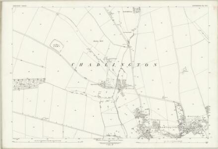 Oxfordshire XX.7 (includes: Chadlington) - 25 Inch Map