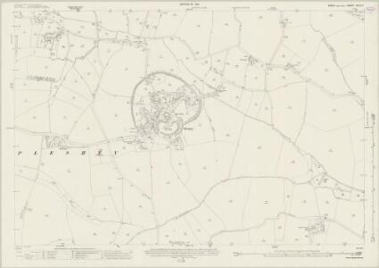 Essex (New Series 1913-) n XLIV.9 (includes: Pleshy) - 25 Inch Map
