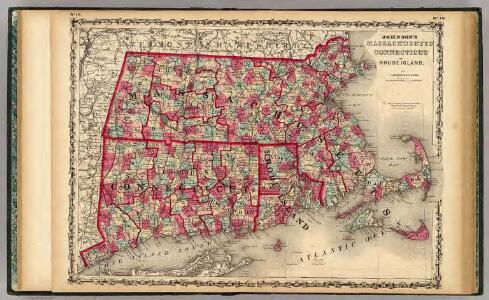 Massachusetts Connecticut And Rhode Island.