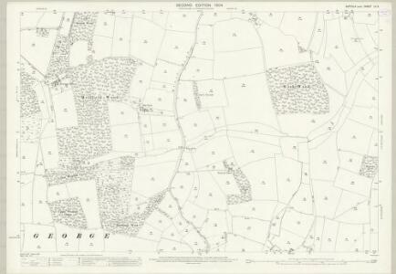 Suffolk LV.2 (includes: Bradfield St George; Drinkstone; Hessett; Rougham) - 25 Inch Map