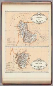 Provincias de Jujuy y Tucuman.