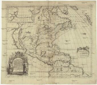 Charte eines sehr grossen Landes zwischen Neü Mexico und dem Eysmeerische Groß Brittanische May[e]st[ät] Wilhelm III