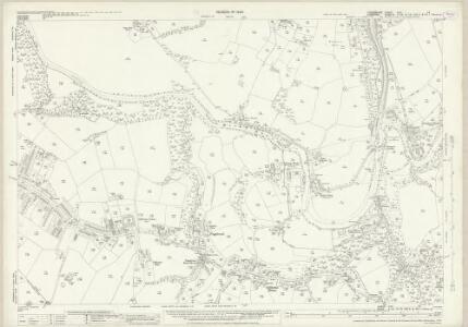Lancashire CXII.14 (includes: Bredbury And Romiley; Hazel Grove And Bramhall; Marple; Stockport) - 25 Inch Map
