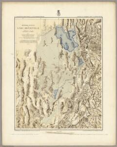 Restored Outline Of Lake Bonneville ... Portions Of Western Utah & Eastern Nevada.
