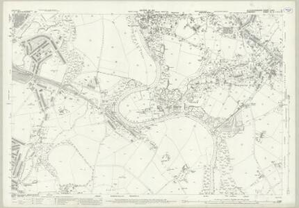 Gloucestershire LXXVI.2 (includes: Bristol; Hanham Abbots; Kingswood) - 25 Inch Map