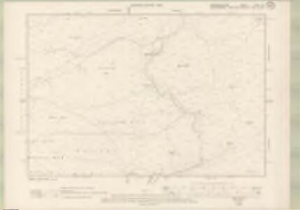Roxburghshire Sheet XXIVa.SE - OS 6 Inch map