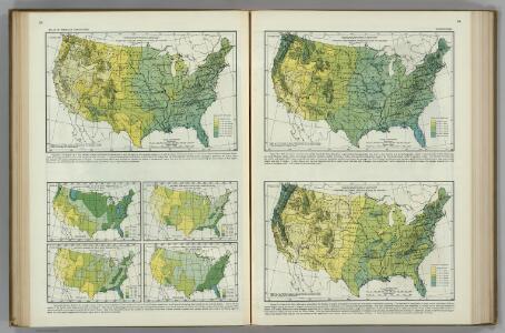 Average Precipitation.  Atlas of American Agriculture.
