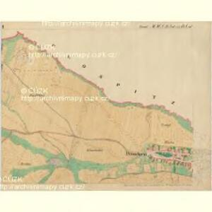 Doeschen - m0425-1-001 - Kaiserpflichtexemplar der Landkarten des stabilen Katasters