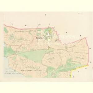 Milschitz - c4640-1-002 - Kaiserpflichtexemplar der Landkarten des stabilen Katasters