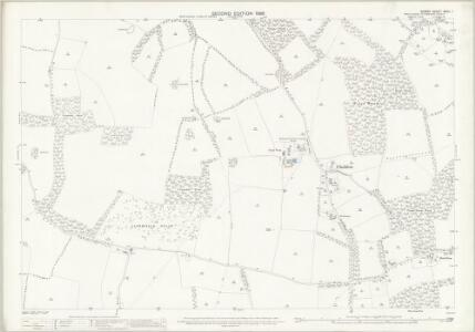 Surrey XXVII.1 (includes: Chaldon; Coulsdon; Merstham) - 25 Inch Map