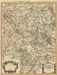 Tabula Nova Circuli Electoralis Rheni, ad Usum Serenissimi Burgundae Ducis
