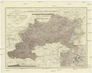 Nieder und Ober-Oesterreich oder das Erzherzogthum Oesterreich unter und ober Enns und das Herzogthum Salzburg