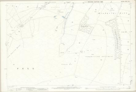 Durham XXXI.1 (includes: Stanhope) - 25 Inch Map