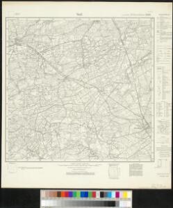 Meßtischblatt 2292 : Verl, 1932