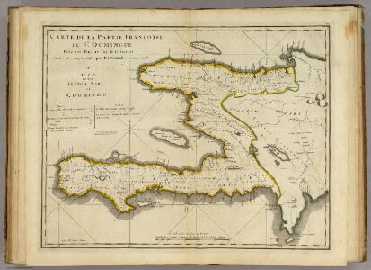 Carte De La Partie Francoise De St. Domingue.