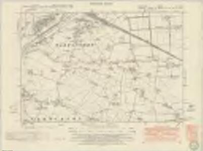 Lancashire CX.SW - OS Six-Inch Map