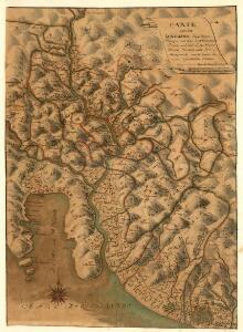 Carte von der Lunegiana