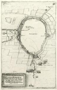 Eigentlicher Gründtriß der Statt Paderborn vnd wie solche von Ihr Exell: Herrn Veldt-Marschaln Carol Gustaff Wrangel ein genohmen worden Anno 1646