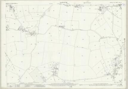 Suffolk LXXII.12 (includes: Acton; Chilton; Great Waldingfield; Long Melford; Sudbury) - 25 Inch Map