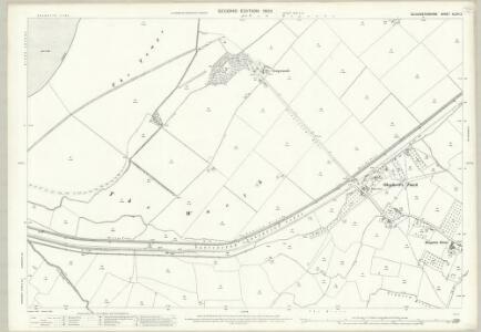 Gloucestershire XLVIII.2 (includes: Hamfallow; Slimbridge) - 25 Inch Map